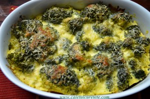 Broccoli gratinat
