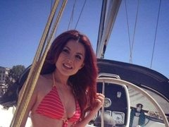 FOTO: Elena Gheorghe, in costum de baie! HOT or NOT?
