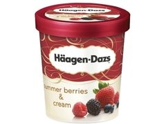 Haagen-Dazs aduce in Romania un nou sortiment racoritor - Summer Berries & Cream