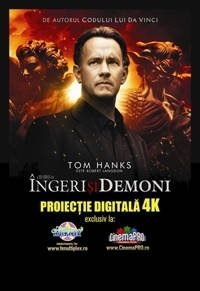 Ingeri si demoni, primul film digital 4K