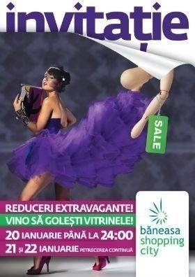 Baneasa Shopping City te invita la extra reducerile extravagante