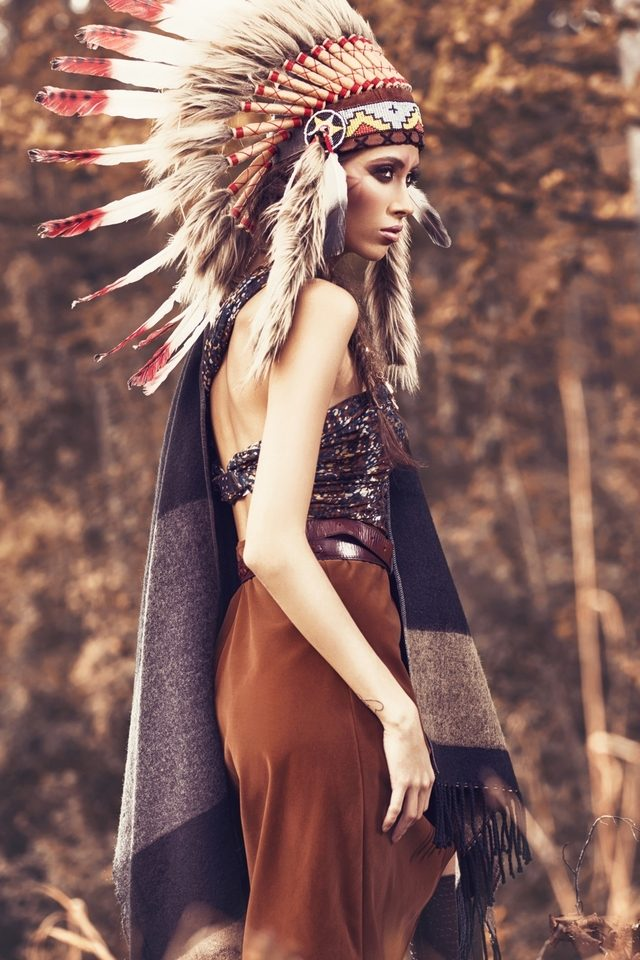 Pictorial tribal
